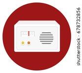 retro radio icon | Shutterstock .eps vector #678732856