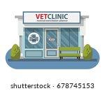 veterinary medicine hospital ... | Shutterstock .eps vector #678745153