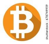 bitcoin cripto currency...   Shutterstock .eps vector #678749959