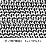 doddle line   abstract seamless ... | Shutterstock .eps vector #678754153
