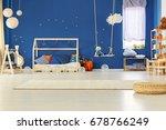 scandinavian decorated original ...   Shutterstock . vector #678766249