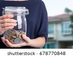 donate money for help and give... | Shutterstock . vector #678770848