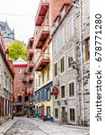quebec city  canada   may 30 ... | Shutterstock . vector #678771280