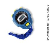 sports equipment   blue digital ...