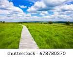 Beautiful Wide View Path...
