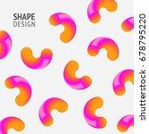 geometric shape color... | Shutterstock .eps vector #678795220