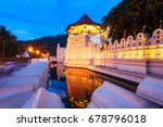 temple of the sacred tooth... | Shutterstock . vector #678796018