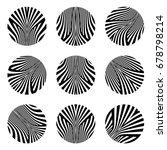 design elements set. patterns... | Shutterstock .eps vector #678798214