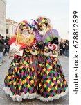 venice  italy   february 27 ... | Shutterstock . vector #678812899