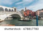venice  italy   february 27 ... | Shutterstock . vector #678817783