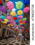 romania  timisoara  may 21 ... | Shutterstock . vector #678820738