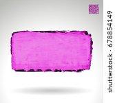 purple brush stroke and texture....   Shutterstock .eps vector #678854149