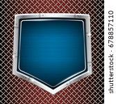 industrial vector background.... | Shutterstock .eps vector #678857110