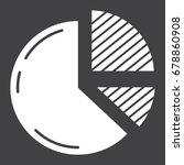 pie chart solid icon  business...