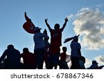 istanbul  turkey   july 15 ... | Shutterstock . vector #678867346