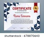 multipurpose modern...   Shutterstock .eps vector #678870643