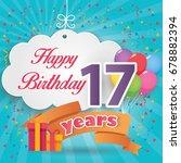 17 th birthday celebration...
