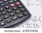 close up shot of scientific... | Shutterstock . vector #678937828