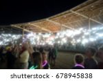 blur background of crowd at... | Shutterstock . vector #678945838