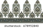 seamless traditional indian... | Shutterstock . vector #678952840
