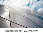 wide angle view to a new modern ... | Shutterstock . vector #67896499