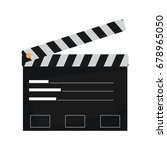 film maker clapper board action ...   Shutterstock .eps vector #678965050