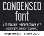 vector of stylized font and... | Shutterstock .eps vector #678966073