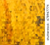 background with colorful hex... | Shutterstock . vector #678967774