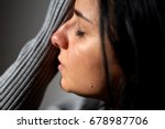 people  grief and domestic... | Shutterstock . vector #678987706