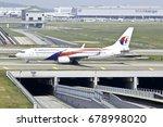 sepang  malaysia  planes at... | Shutterstock . vector #678998020