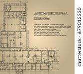 vintage detailed architectural... | Shutterstock .eps vector #679012330