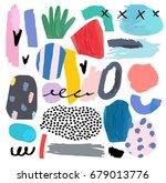 artistic creative universal... | Shutterstock .eps vector #679013776