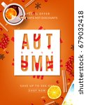 orange beautiful flyer for... | Shutterstock .eps vector #679032418
