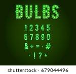 green neon casino or broadway... | Shutterstock . vector #679044496