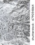 Small photo of aluminum foil background