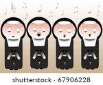 singing nuns | Shutterstock . vector #67906228