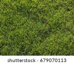 green grass background | Shutterstock . vector #679070113