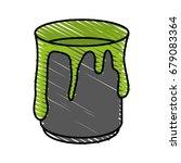 paint vector illustration | Shutterstock .eps vector #679083364