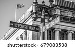 pennsylvania avenue in... | Shutterstock . vector #679083538
