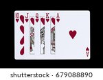 playing cards royal flush...