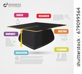 education infographic template. ... | Shutterstock .eps vector #679099564