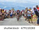 col de peyra taillade  france   ... | Shutterstock . vector #679110283