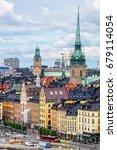 stockholm  sweden   july 08 ...   Shutterstock . vector #679114054