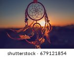 dreamcatcher sunset   the... | Shutterstock . vector #679121854