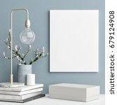 decoration concept interior ... | Shutterstock . vector #679124908