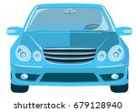 business car | Shutterstock .eps vector #679128940