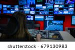 video switcher and tv control... | Shutterstock . vector #679130983