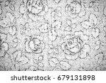 black and white grunge... | Shutterstock . vector #679131898