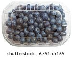 blueberry fruits in the plastic ...   Shutterstock . vector #679155169