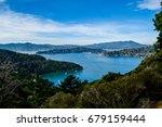 san francisco bay | Shutterstock . vector #679159444